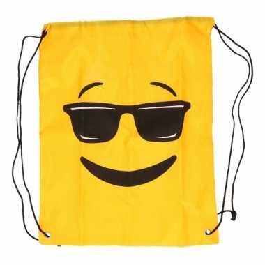 Emoticon gymtasje zonnebril
