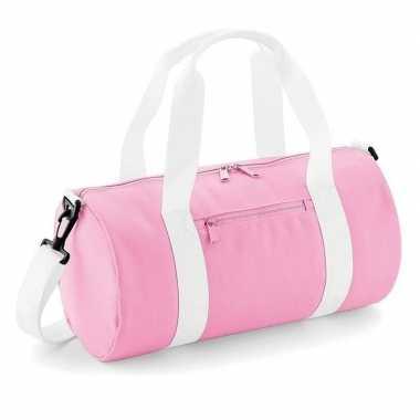 Roze sporttas/sporttas meisjes
