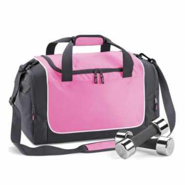 Roze zwarte sportsport L