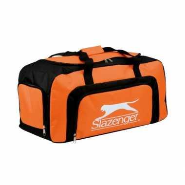 Slazenger sporttas oranje