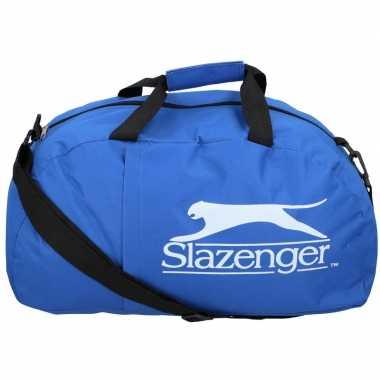 Slazenger sporttas/sporttas blauw