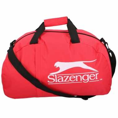 Slazenger sporttas/sporttas rood