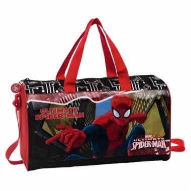 Spiderman sporttas kinderen
