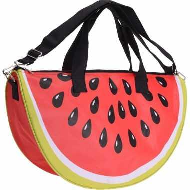 Strandtas/sporttas watermeloen
