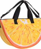 Strandtas sporttas sinaasappel